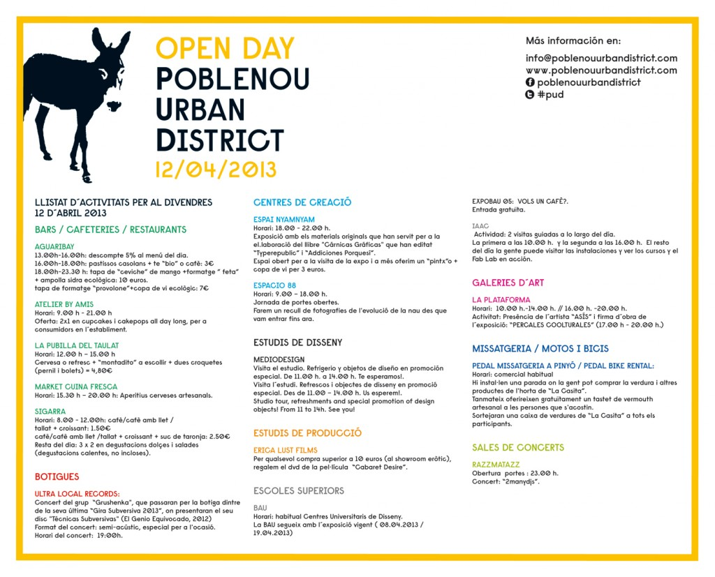 POBLENOU URBAN DISTRICT