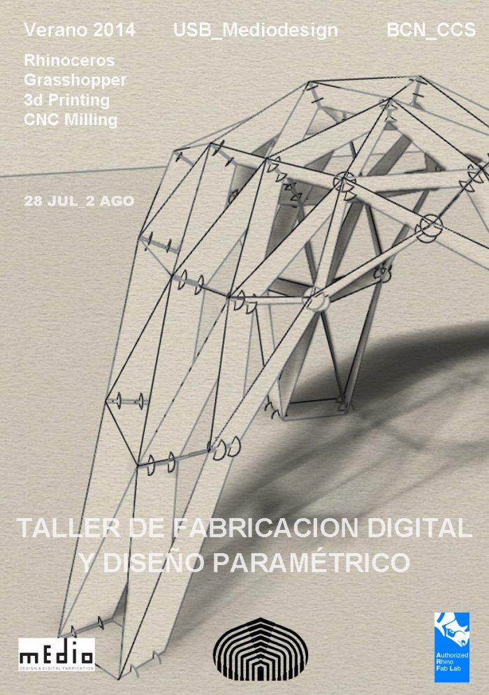 Taller de fabricación digital en Mediodesign