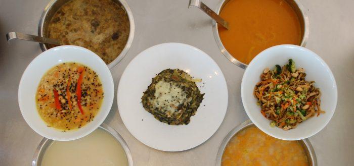 Clase de cocina energética en Sopa Barcelona