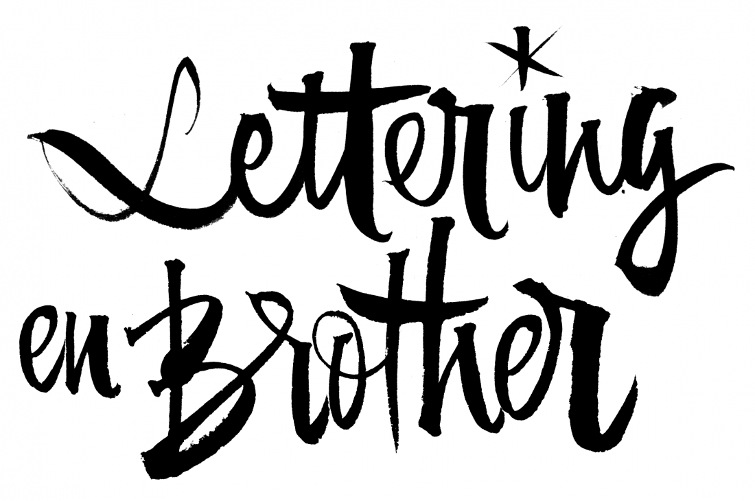 Lettering en Brother Barcelona