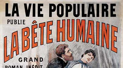 """""""La Bestia Humana"""" de Emile Zola"""