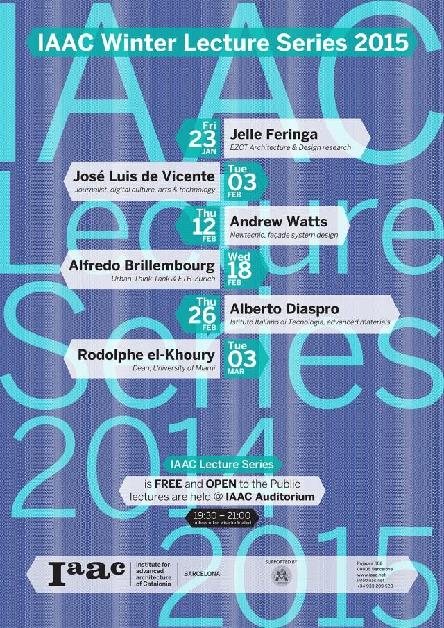 IAAC Winter Lectures 2015