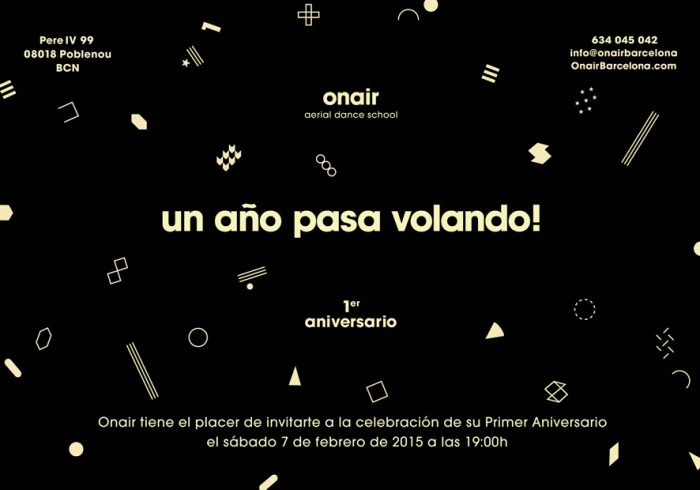 Aniversario Onair Barcelona