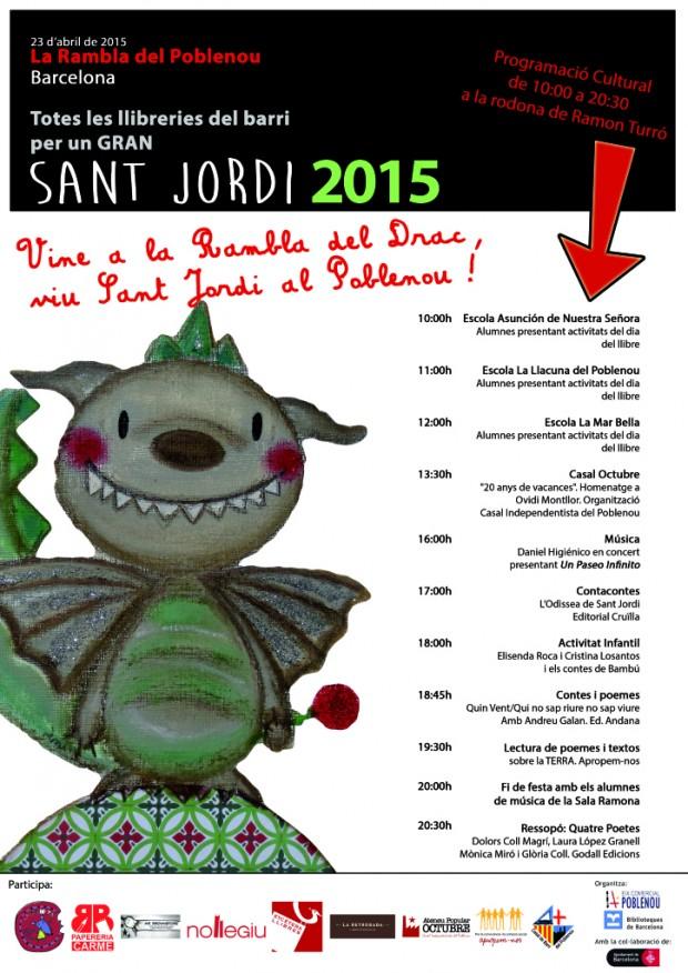 Sant Jordi a Poblenou
