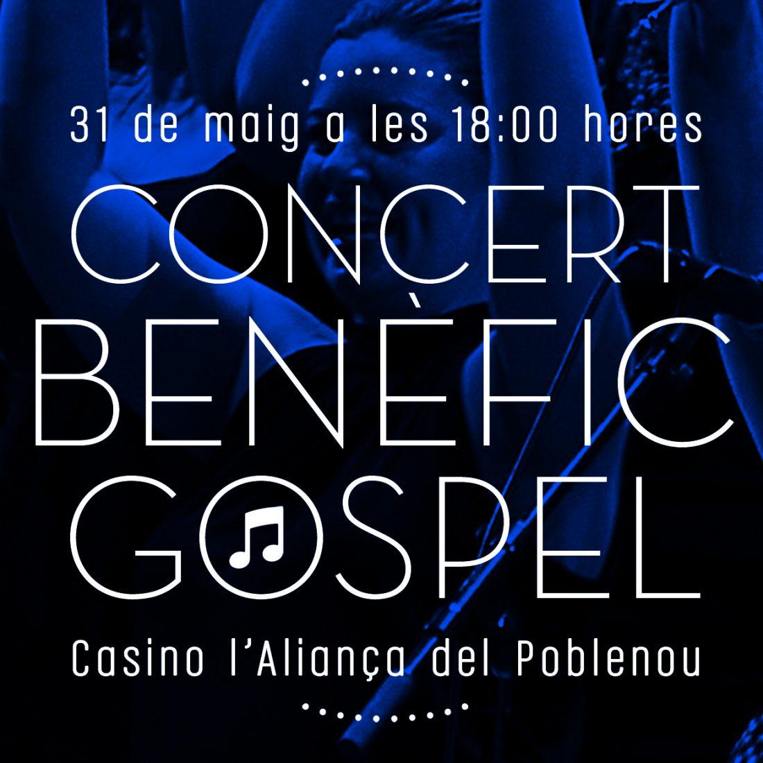 Concert Benefic Gospel Casino L'Aliança de Poblenou