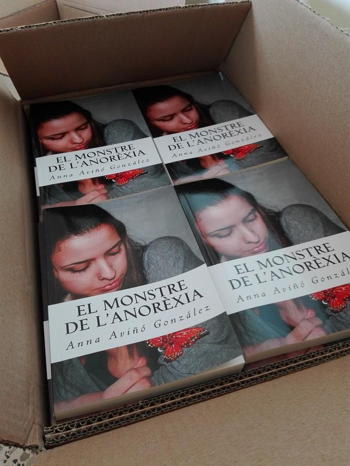 """Presentación del libro """"el monstruo de la Anorexia"""" en Sopa Barcelona"""