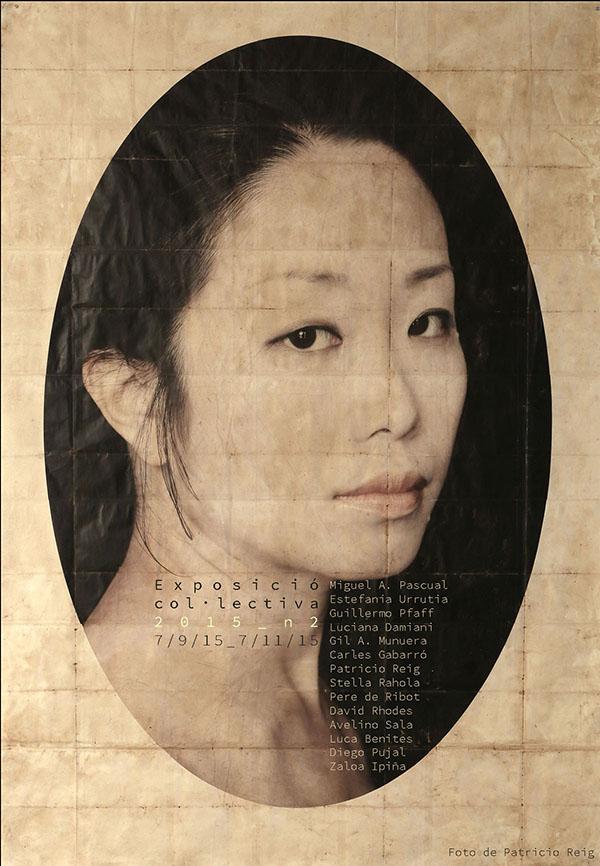 """""""Natsuki"""" de la exposición colectiva """"Sobre Paper"""" en Piramidón"""