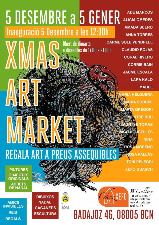 Poster Xmas Art Market