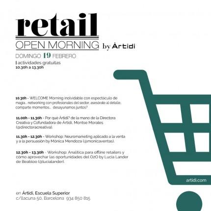 flyer programa. Retail Morning 19 Febrero