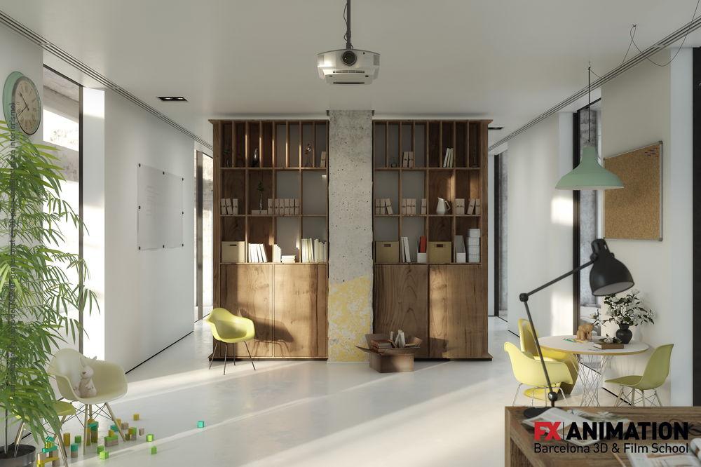 Catal imatges en 3d per arquitectura i interiorisme for Master interiorismo barcelona