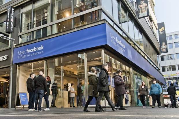 Facebook Pop Up Store en Köln. Michael Gottschalk ®