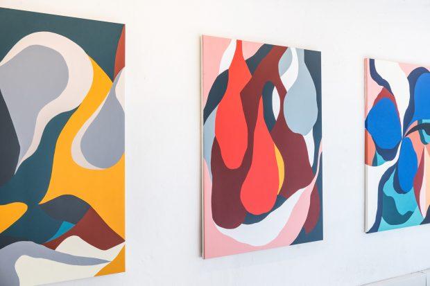 'Del color a la forma', de Juan Sesé
